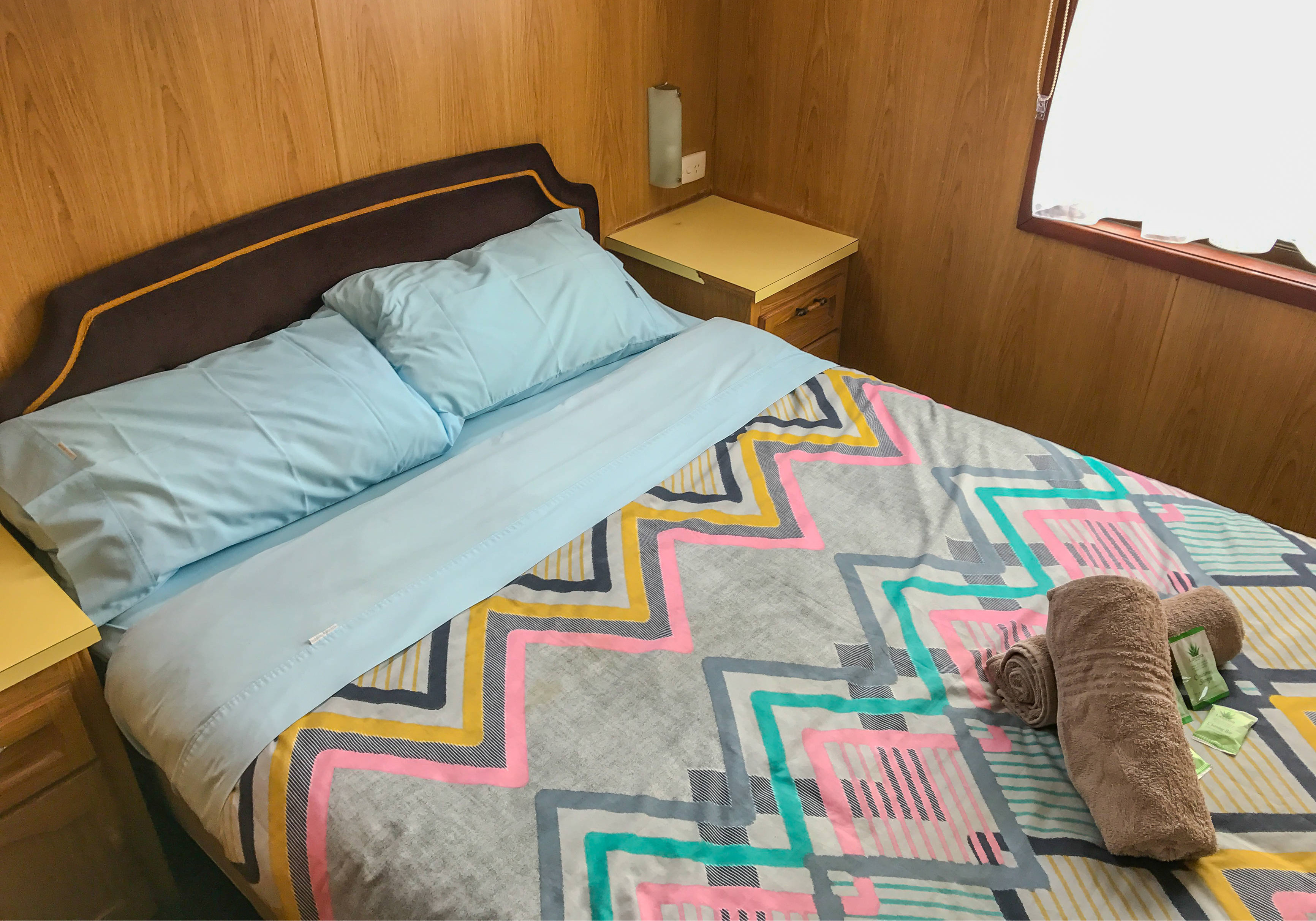 Cabin 54 - Bed